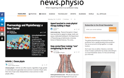 Physiotherapy and Physical Therapy daily newspaper is out now!