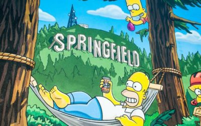 Australian Physio Nabs The Simpson's Home Town Website Address